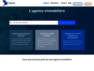 Aquizio : agence spécialisée dans la vente de biens immobiliers