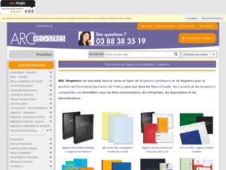 Détails :  Les registres obligatoires chez ARC-Registres