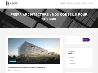 Le blog dédié aux prépas architecture