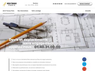 Architecte travaux Paris : Prestations de conception et rénovation haut de gamme