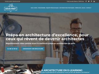 Archi Prep', école des cours préparatoires en architecture à Paris