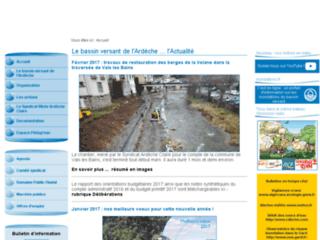 L'eau au coeur du bassin versant de l'Ardèche