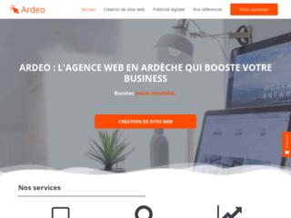 Ardeo - Création de sites web, référencement et webmarketing en Ardèche
