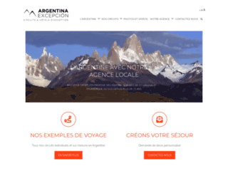 Détails : Agence de voyage en Argentine - Argentina Excepción