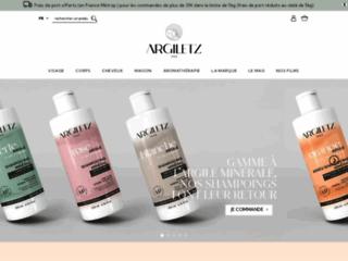 Argiletz : produits pour le corps à base d'argile