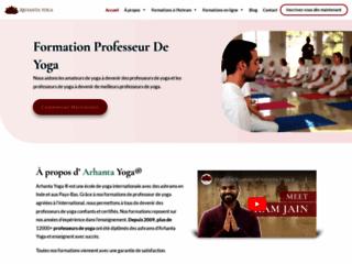 Détails : Formations de professeur de Yoga chez Arhanta Yoga Ashrams