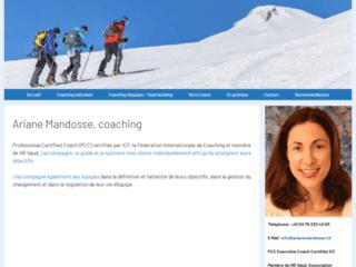 Ariane Mandosse, coaching pour privés et équipes