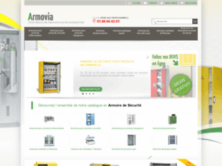 Détails : Armovia : spécialiste de la vente d'armoire de sécurité