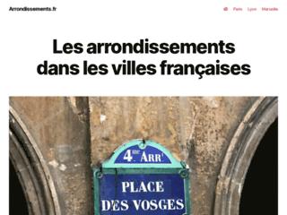 Mieux connaître les arrondissements