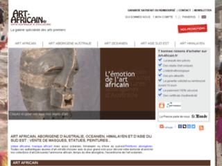 Détails : Art Africain