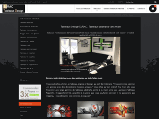 Détails : Triptyque Design sur chassis