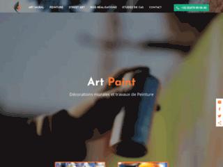 Détails : Art Paint : décoration picturale sur murs et peinture en bâtiment