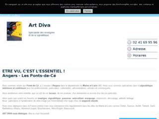 Art Diva - Fabriquant d'enseignes à Angers