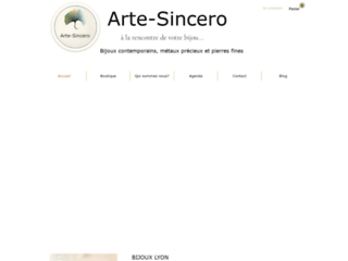 Détails : Bijoux Lyon : Arte-Sincero bijoux contemporains en argent 925
