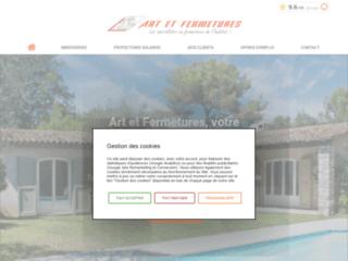 Art et Fermetures : Entreprise spécialisée dans la menuiserie à proximité de Cannes