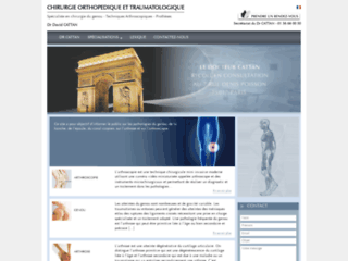 Détails : La clinique du genou - Le Dr Cattan