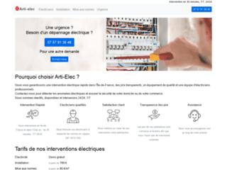 Arti-Elec : dépannage d'urgence à Paris et en Île de France