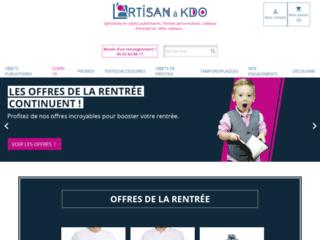 L'Artisan à KDO : Objet publicitaire et textile personnalisé