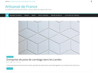 Détails : Artisanat de France