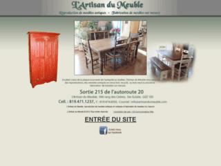 Détails :  Reproduction de meubles antiques