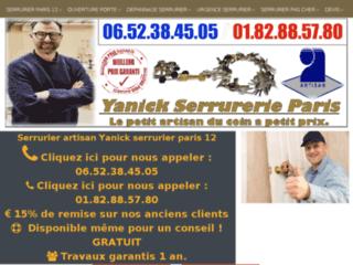 Serrurier Paris 75012