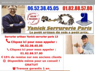 Yanick Serrurier: votre spécialiste des rideaux métalliques à Paris 13