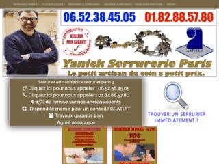 Serrurier sur Paris 3 : un service sur mesure