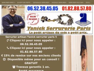 Artisan serrurier sur Paris 5
