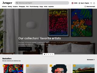 Détails : Artsper, salon virtuel d'art contemporain en ligne