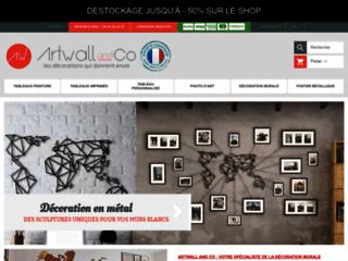 Artwall and co: meilleure boutique de vente des tableaux design en ligne
