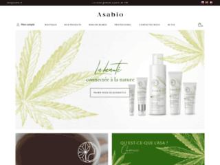ASABIO : Spécialiste des cosmétiques bios au CBD et chanvres 100% biologiques
