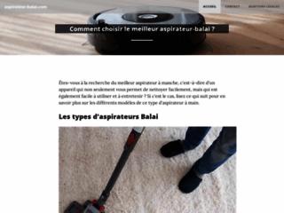 Aspirateur-balai.com, comparatif et guide d'achat
