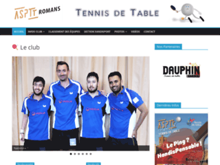 Détails : Tennis de Table Hanfisport