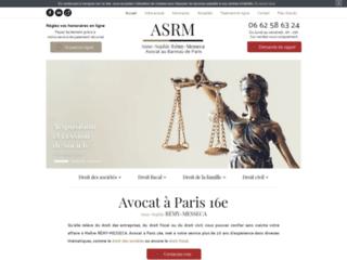 Avocat à Paris 16e Anne-Sophie RÉMY-MESSECA