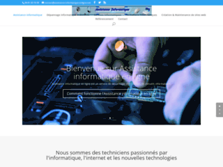Prestataire Informatique - Dépannage et Création de Site web Arras