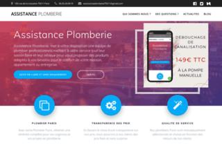 Détails : Assistance Plomberie
