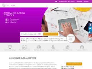Détails : assurance bureau d'études