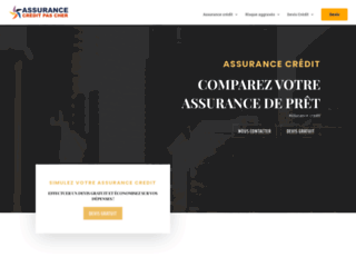 Assurance crédit pas cher
