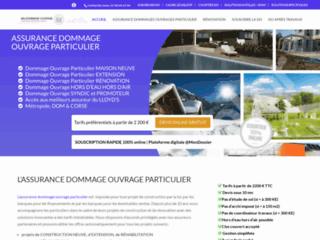 Détails : L'assurance dommages ouvrage particulier