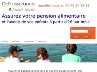 Détails : Garantir le débiteur pension alimentaire