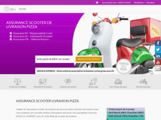 Détails : Assurance scooter livraison pizza