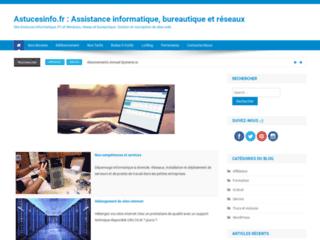 Astucesinfo : Assistance informatique et réseaux.