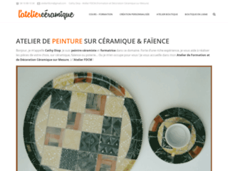 Détails : Atelier de Peinture sur Céramique