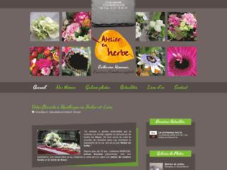 Détails : L'Atelier en Herbe, bouquets de fleurs et compositions florales en Indre-et-Loire