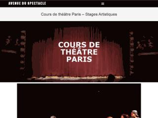 Cours de théâtre amateur à Paris