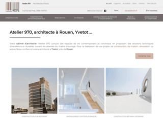 Atelier 970, architecte à Rouen