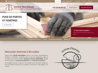 Atelier de menuiserie et d'ébénisterie à Bruxelles