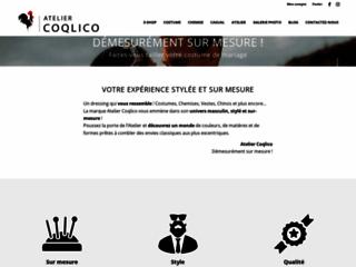 Atelier Coqlico, magasin de costume pour hommes à Paris