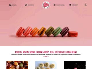 Fabrication artisanale française de macarons