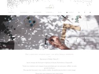 Faire-part et Illustrations par l'Atelier Marie R.
